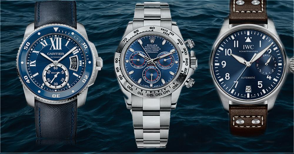 給熱愛藍色錶的你,無法抗拒的3枚型格腕錶
