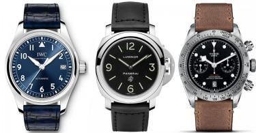 【皮革魅力】3枚適合「上班族」的型格皮錶